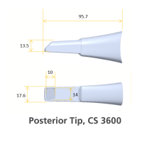Carestream Dental CS3600 Posterior Tip (5 tips)