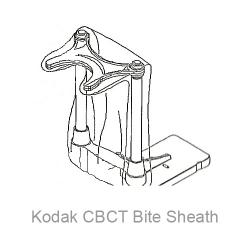 Carestream (Formally Kodak) 9000 CBCT 3d Bite Block Sheaths / Sleeves (2x40)