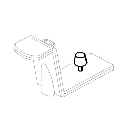 Carestream 8000 (TrophyPan) OPG Chinrest