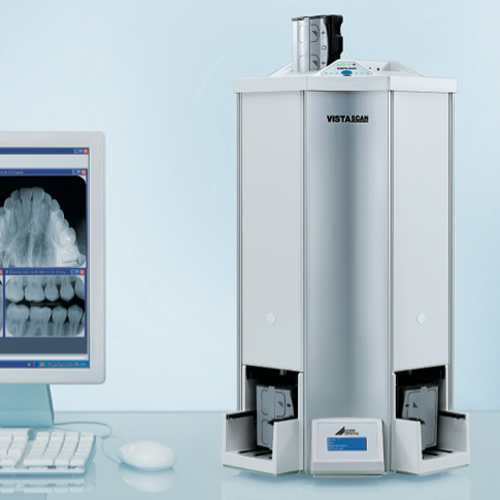 durr vistascan perio plus dental cr scanner