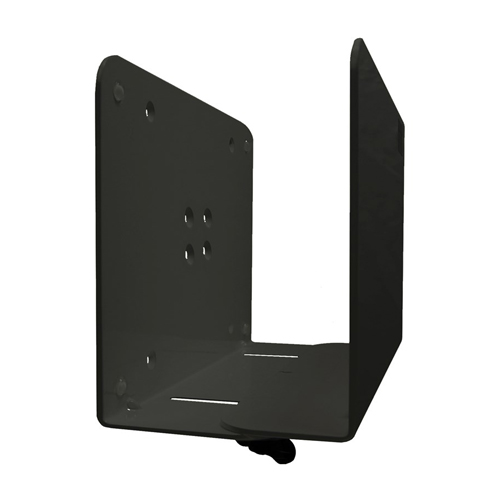 Ergomounts PC CPU Tower Wall Mount 82 120mm Black